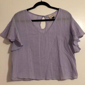 Cute little purple top